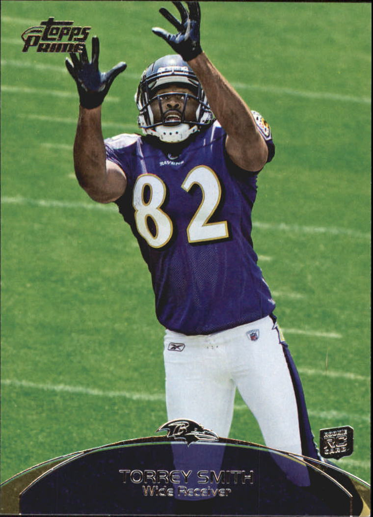 2011 Topps Prime Retail #45 Torrey Smith RC