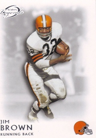 2011 Topps Legends #80 Jim Brown