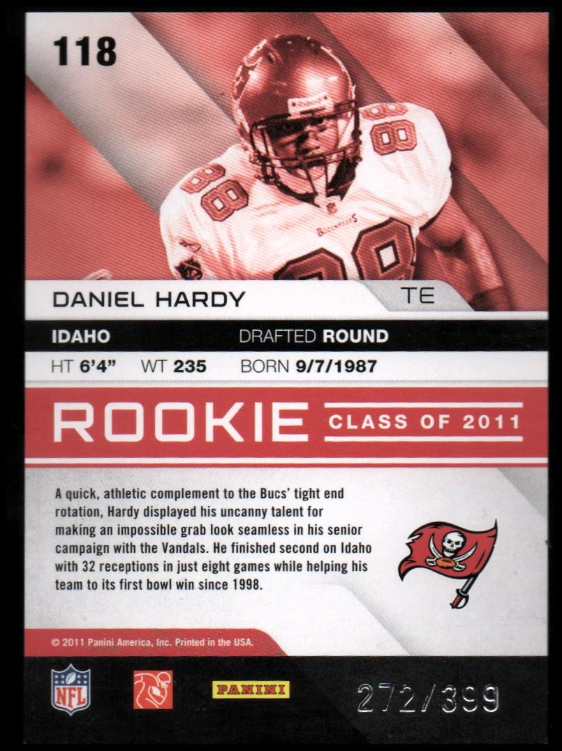 2011 Absolute Memorabilia #118 Daniel Hardy RC