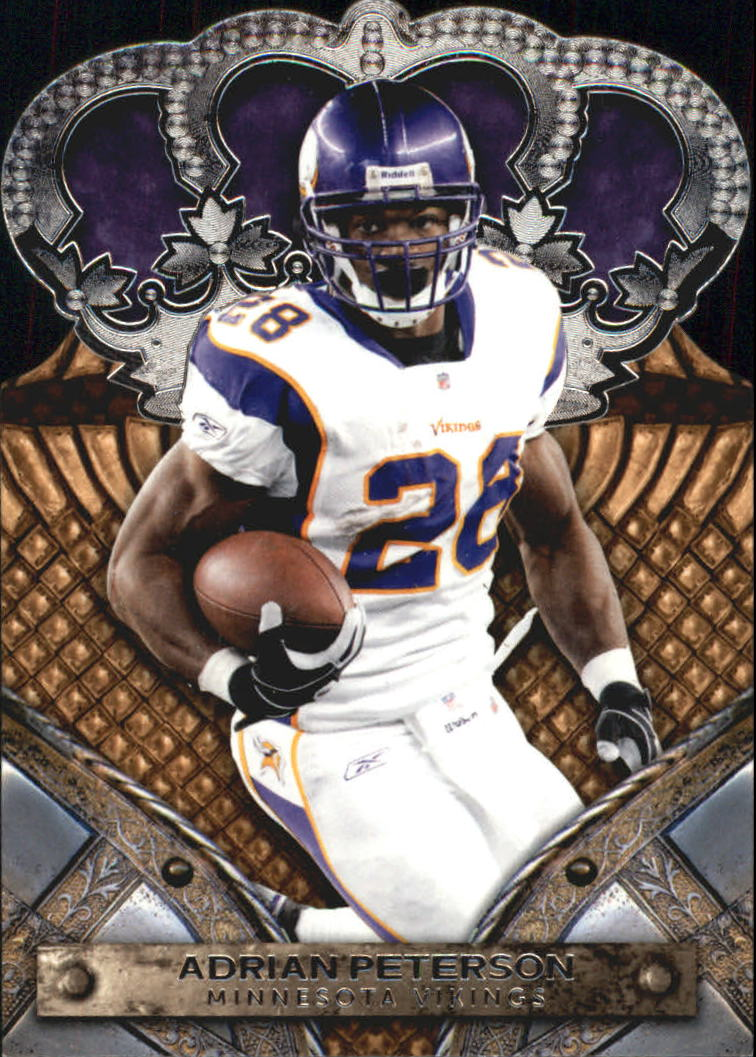 2011 Crown Royale #2 Adrian Peterson