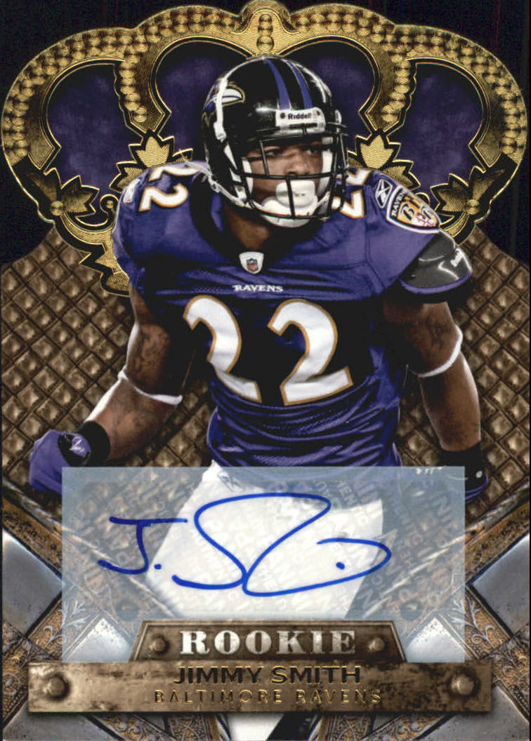 2011 Crown Royale Autographs Gold #145 Jimmy Smith/499