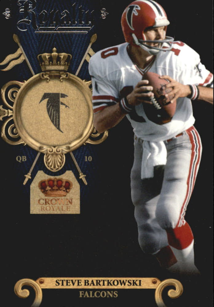 2011 Crown Royale Royalty #8 Steve Bartkowski