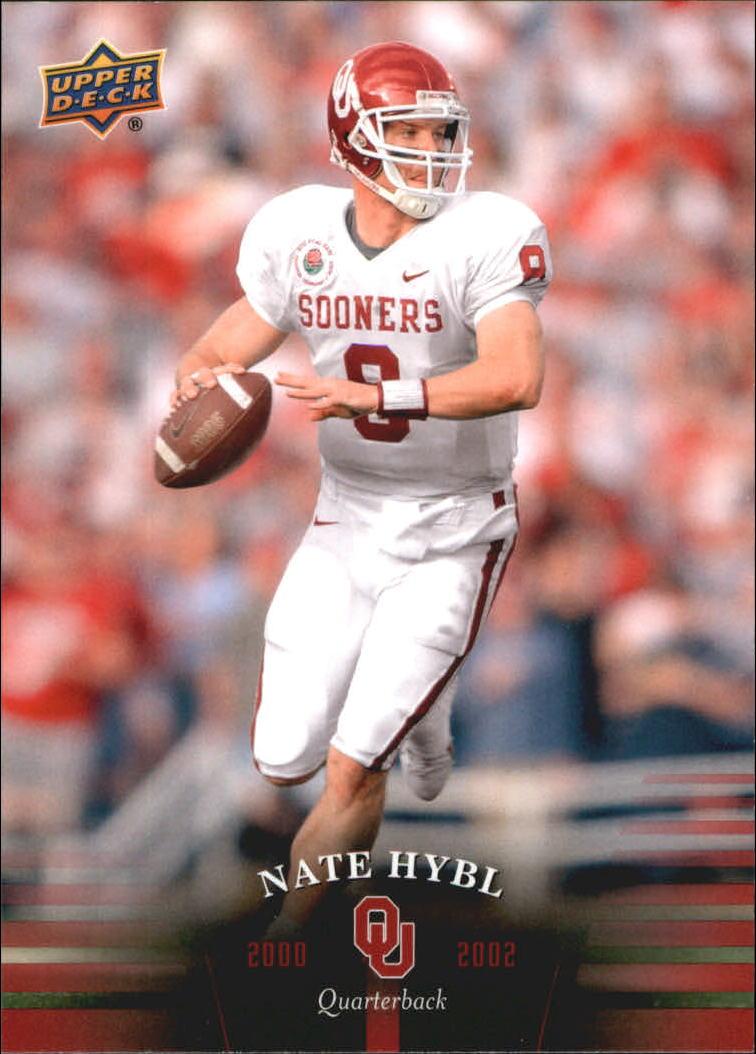 2011 Upper Deck Oklahoma #61 Nate Hybl