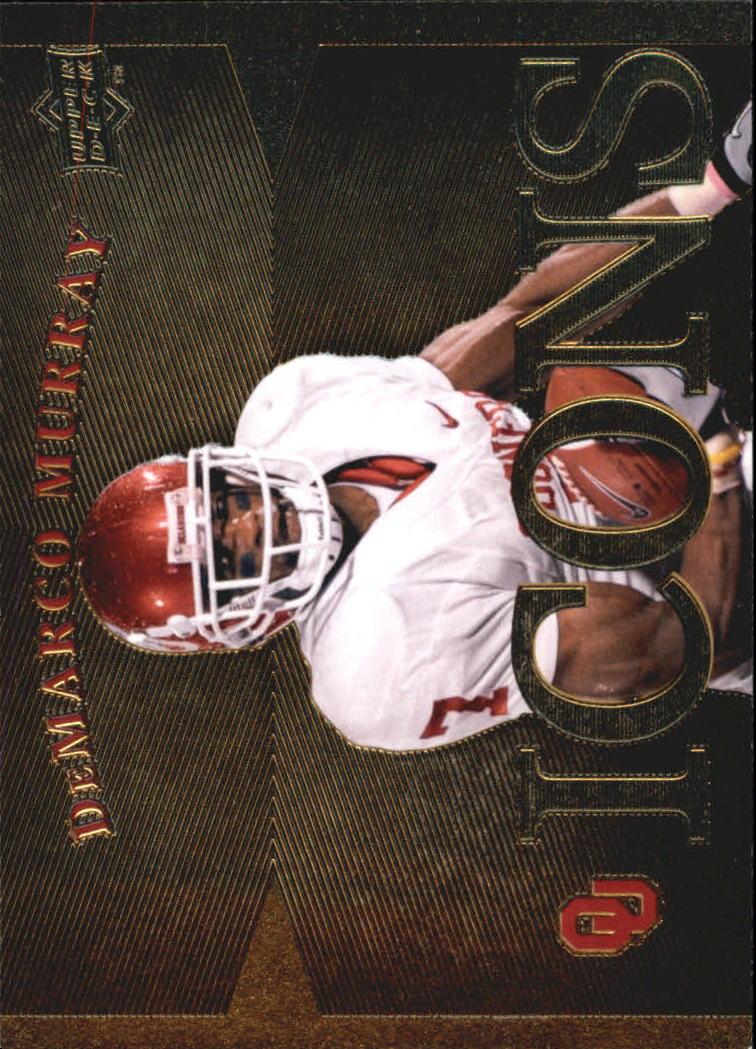 2011 Upper Deck Oklahoma Icons #IDM DeMarco Murray