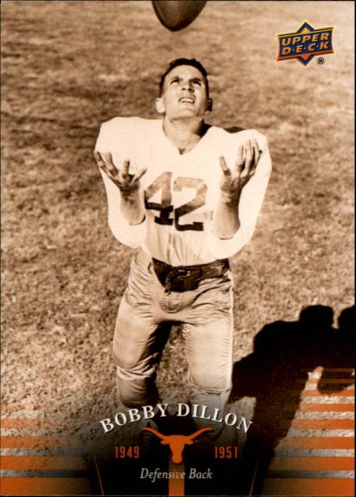 2011 Upper Deck Texas #1 Bobby Dillon