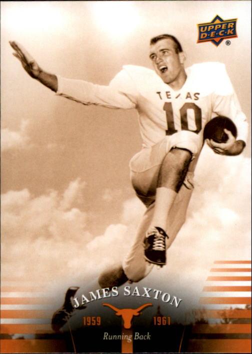 2011 Upper Deck Texas #3 Jimmy Saxton