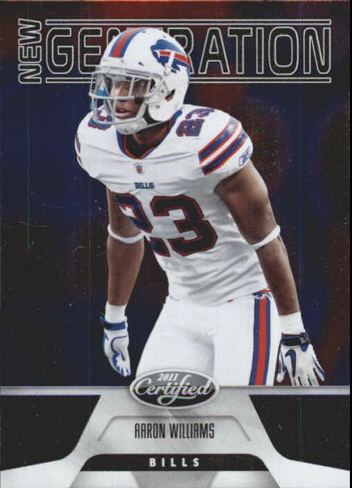 2011 Certified #151 Aaron Williams RC