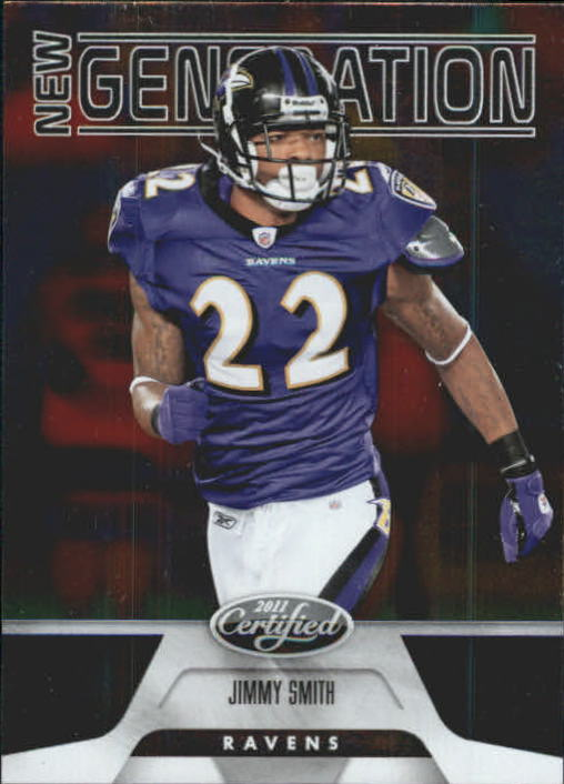 2011 Certified #194 Jimmy Smith RC