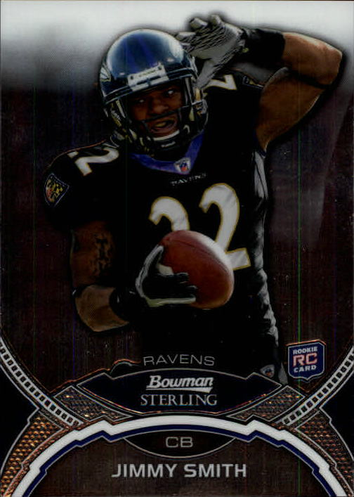 2011 Bowman Sterling #37 Jimmy Smith RC