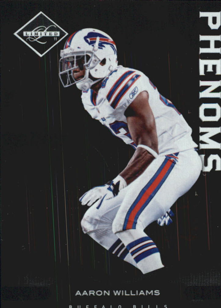 2011 Limited #151 Aaron Williams RC