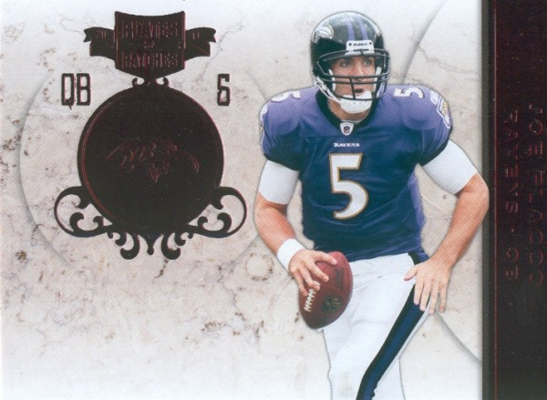 2011 Panini Plates and Patches #1 Joe Flacco