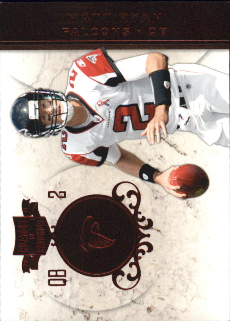 2011 Panini Plates and Patches #2 Matt Ryan