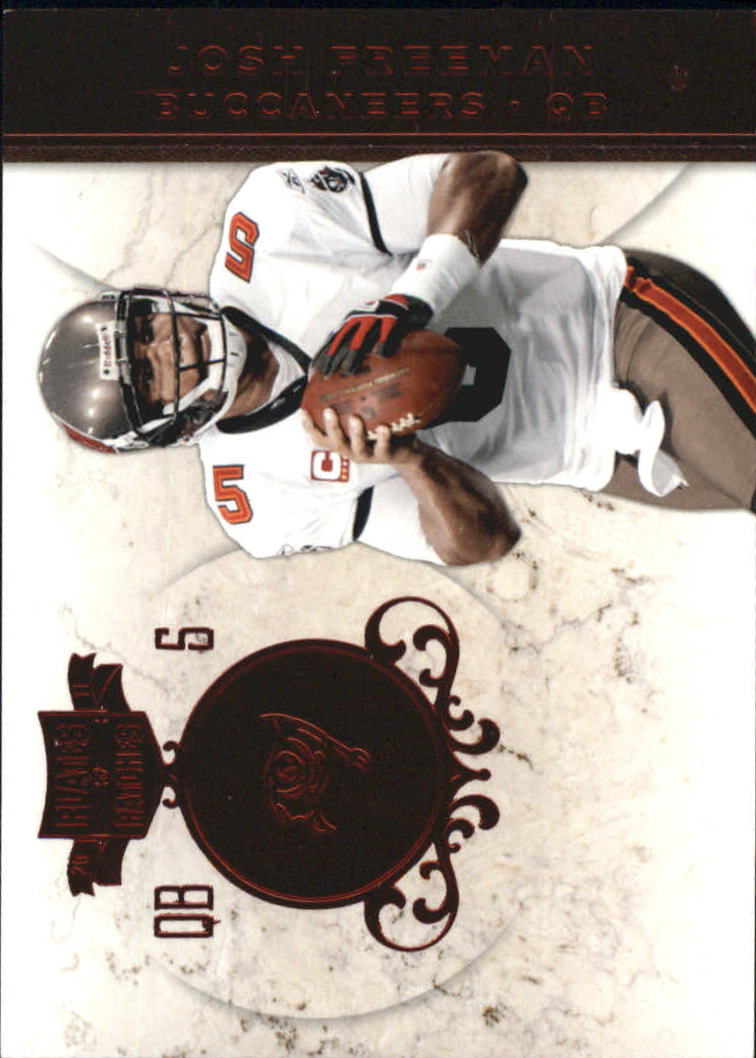 2011 Panini Plates and Patches #3 Josh Freeman