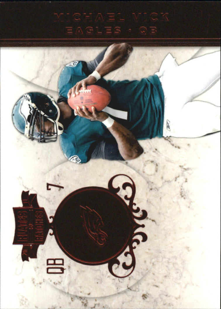 2011 Panini Plates and Patches #7 Michael Vick