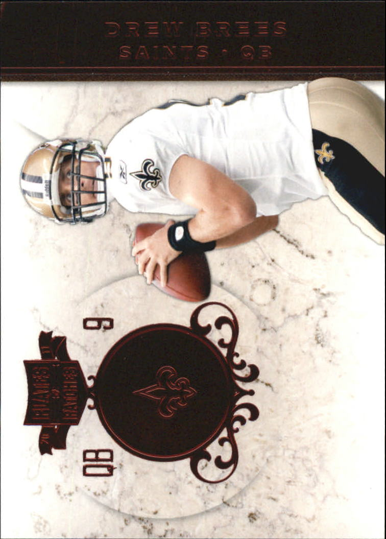 2011 Panini Plates and Patches #9 Drew Brees