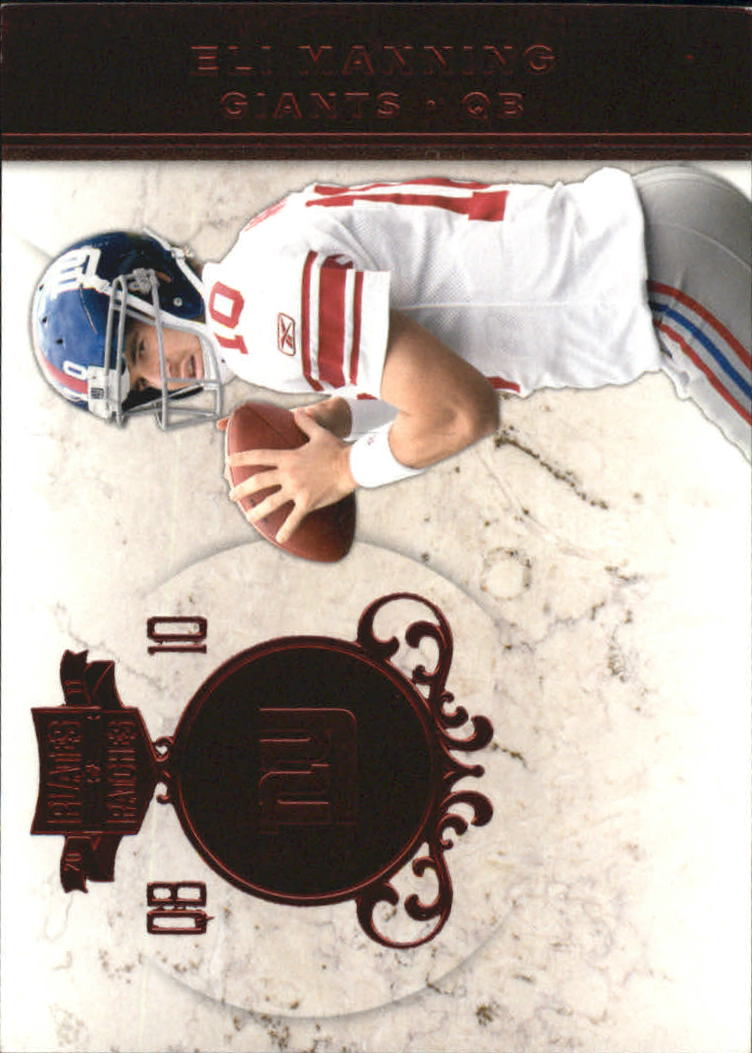 2011 Panini Plates and Patches #10 Eli Manning