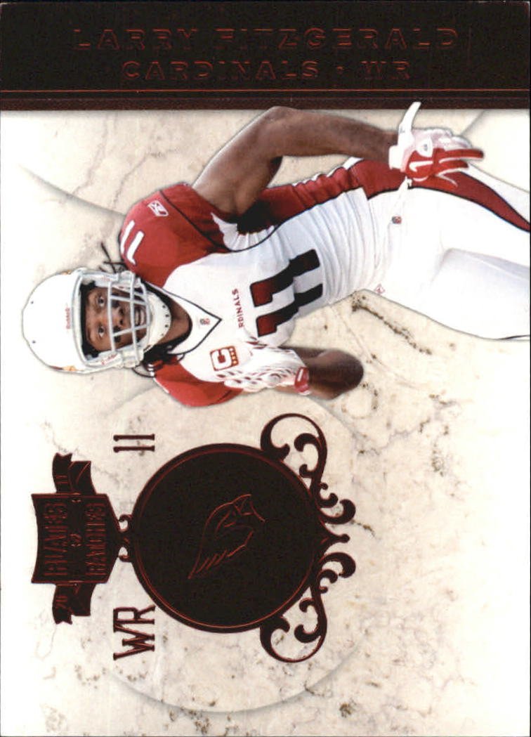2011 Panini Plates and Patches #11 Larry Fitzgerald
