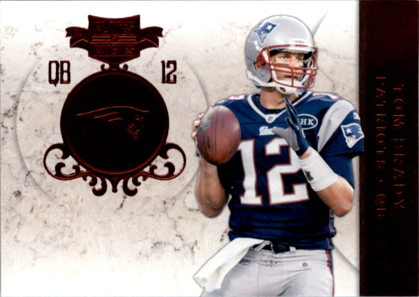 2011 Panini Plates and Patches #12 Tom Brady