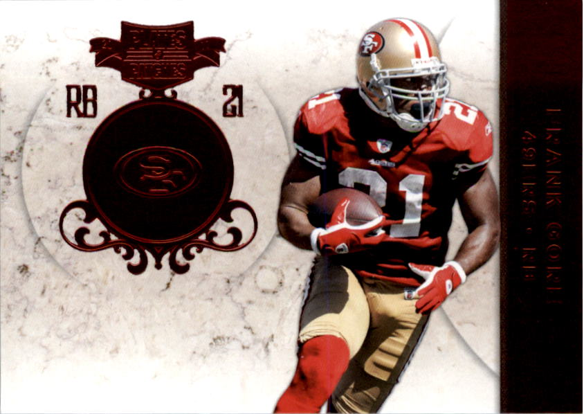 2011 Panini Plates and Patches #21 Frank Gore