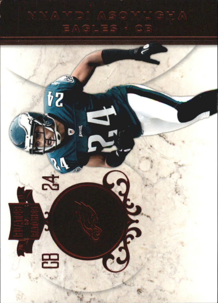 2011 Panini Plates and Patches #24 Nnamdi Asomugha