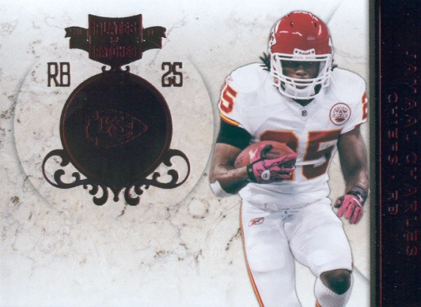 2011 Panini Plates and Patches #25 Jamaal Charles