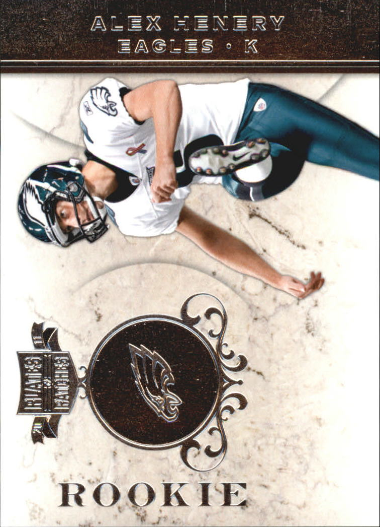 2011 Panini Plates and Patches Silver #108 Alex Henery
