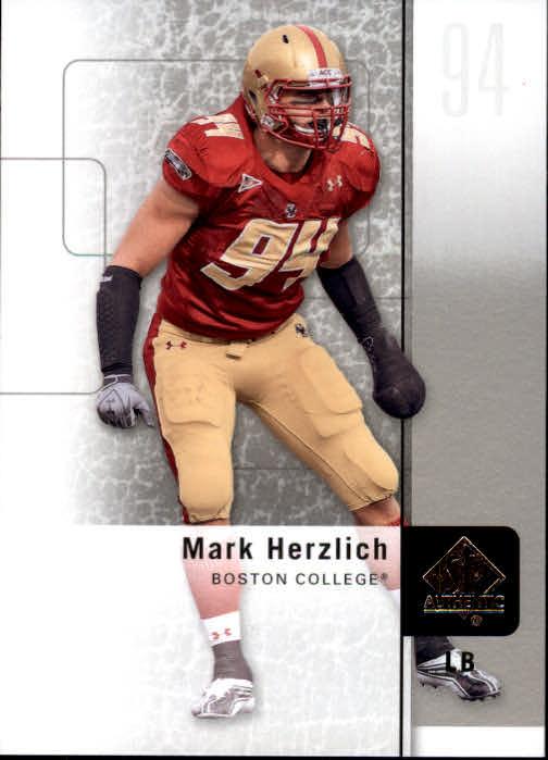 2011 SP Authentic #3 Mark Herzlich