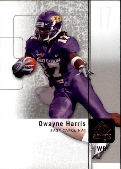 2011 SP Authentic #6 Dwayne Harris