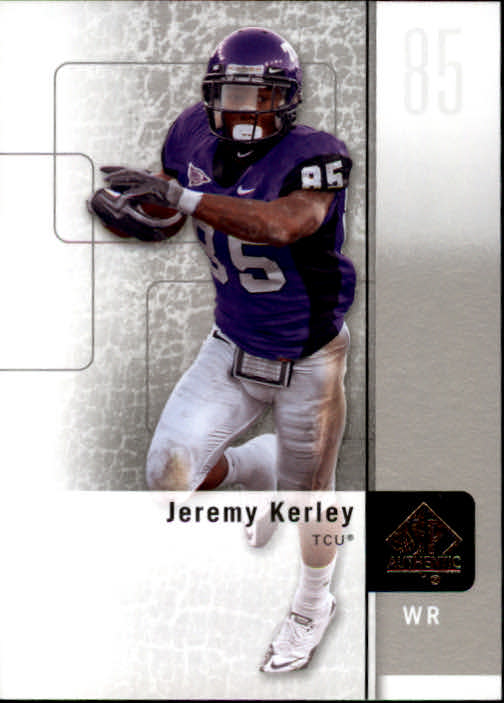 2011 SP Authentic #7 Jeremy Kerley