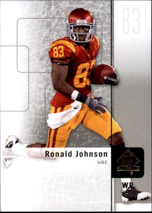 2011 SP Authentic #24 Ronald Johnson