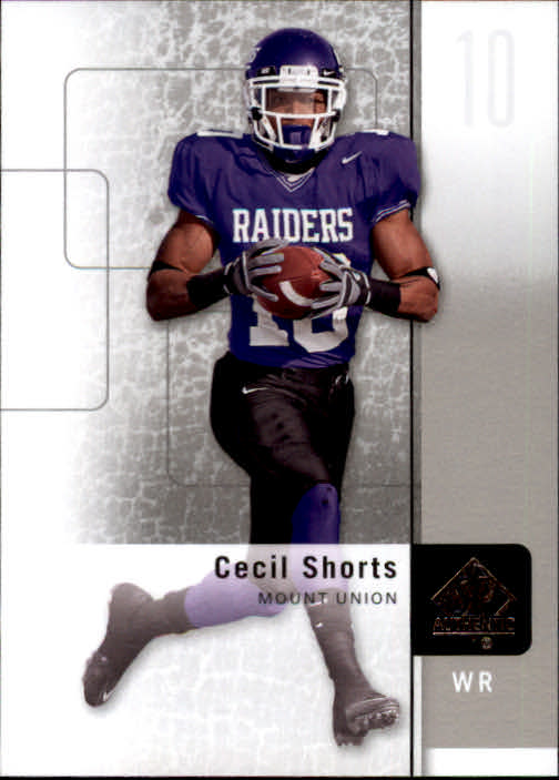 2011 SP Authentic #51 Cecil Shorts