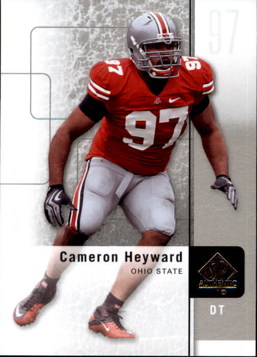 2011 SP Authentic #67 Cameron Heyward
