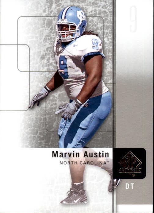 2011 SP Authentic #78 Marvin Austin