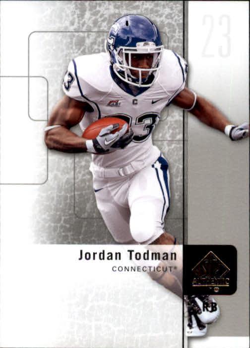 2011 SP Authentic #84 Jordan Todman