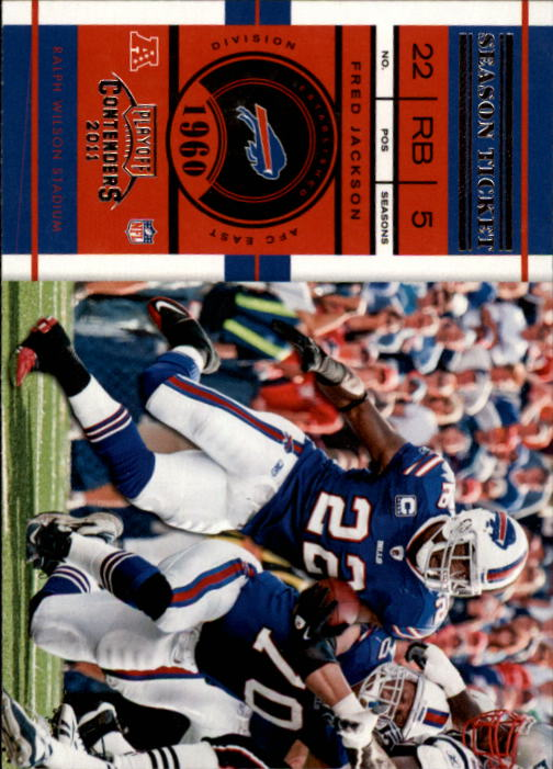 2011 Playoff Contenders #1 Fred Jackson