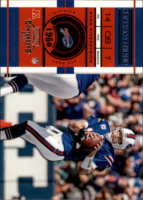 2011 Playoff Contenders #2 Ryan Fitzpatrick