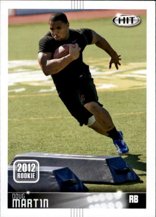 2012 SAGE HIT #65 Doug Martin 12R