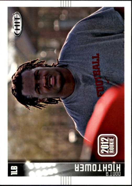 2012 SAGE HIT #135 Dont'a Hightower 12R