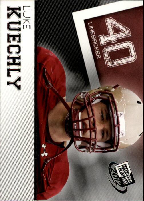 2012 Press Pass #27 Luke Kuechly