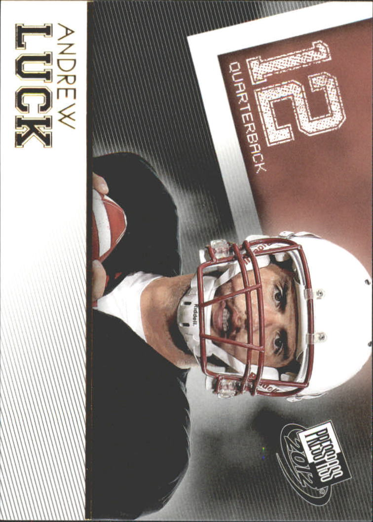 2012 Press Pass Gold #30 Andrew Luck
