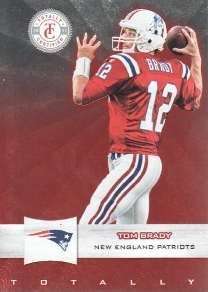 2011 Totally Certified #5 Tom Brady