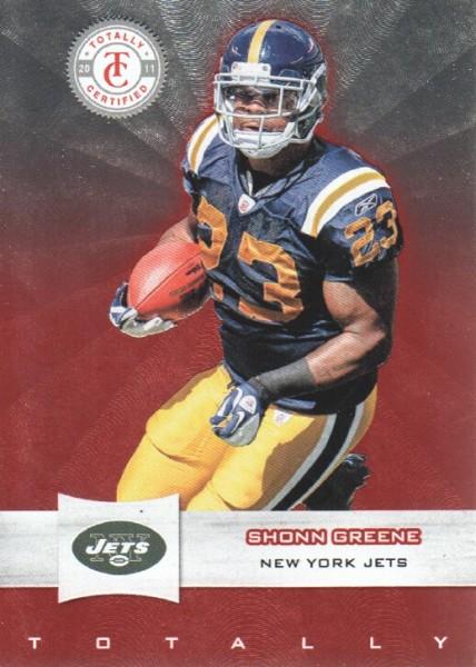2011 Totally Certified #9 Shonn Greene