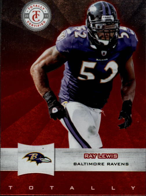 2011 Totally Certified #22 Ray Lewis