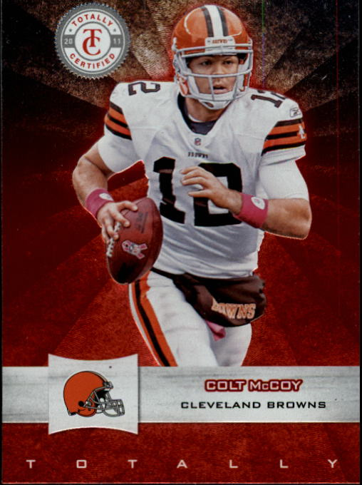 2011 Totally Certified #24 Colt McCoy