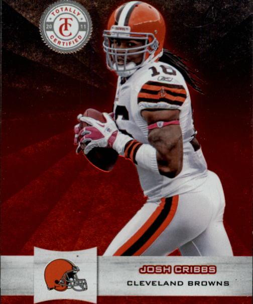 2011 Totally Certified #25 Josh Cribbs