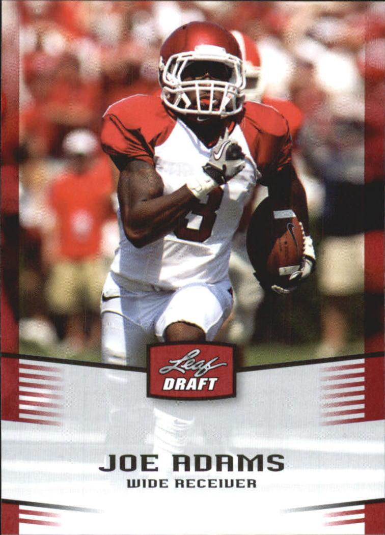 2012 Leaf Draft #24 Joe Adams