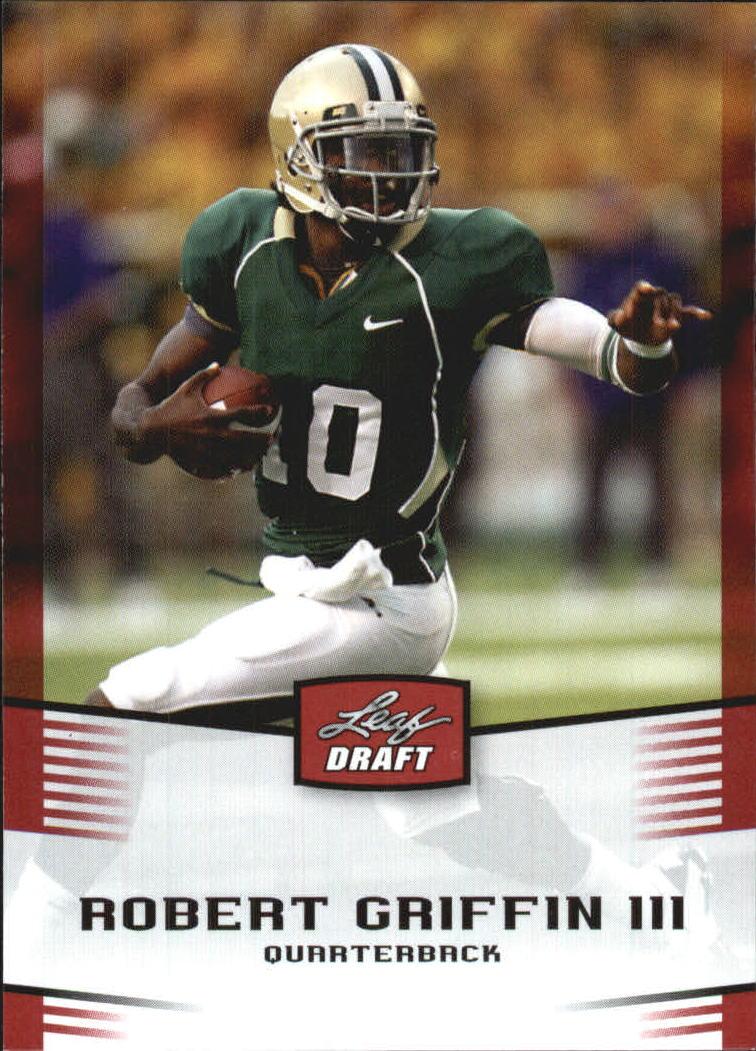 2012 Leaf Draft #40 Robert Griffin III