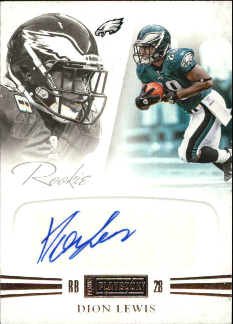 2011 Panini Playbook #65 Dion Lewis AU/299 RC