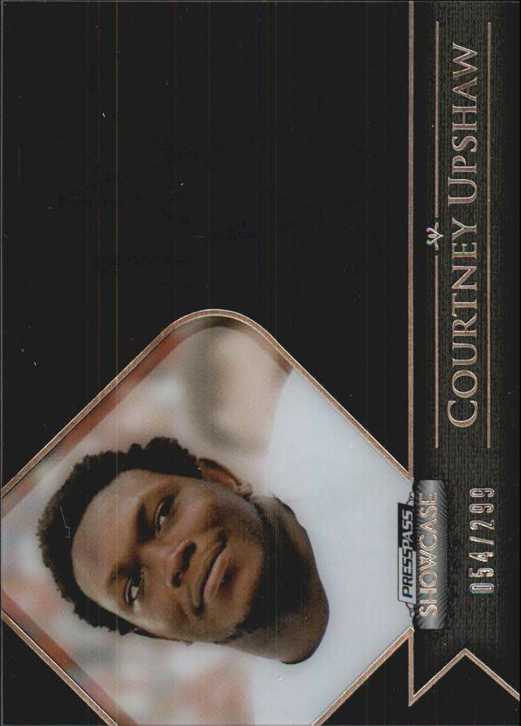 2012 Press Pass Showcase #SCCU Courtney Upshaw/299