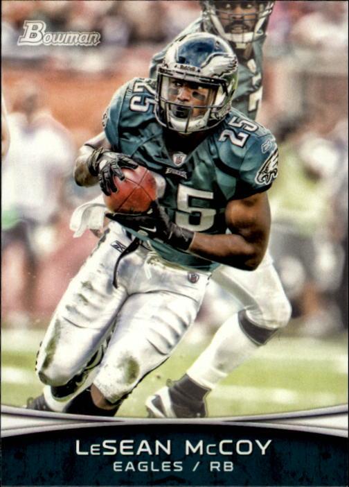 2012 Bowman #10 LeSean McCoy